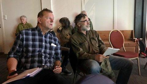 HÅP OM ROLIGERE TIDER: Kommunedirektør Arne Sandbu på årsmøtet i Kvamsfjellet Vel