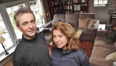 GAMMELT BLIR NYTT: Hjemme hos Tom Johnsen og Ida Røsjø Johnsen er det meste brukt før. Enten kjøpt på Finn, på auksjoner eller arvet.