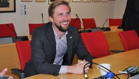SIER NEI: Lasse Storrvik Lehre stiller ikke som toppkandidat for Lunner Høyre i valget 2019.