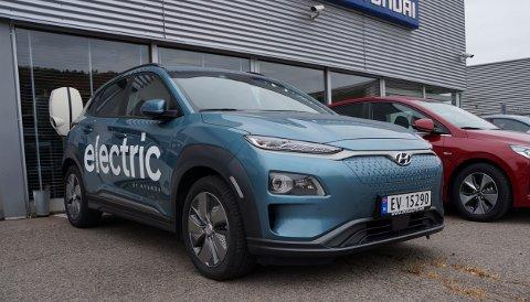 DYRERE BRUKT: Hyundai Kona er en av de mest populære elbilene om dagen, som flere nybilkjøpere annonserer til salgs opp mot 50.000 kroner høyere enn nybilprisen.