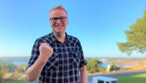 FÅR TILLIT: Haldenseren Fredrik Holm er nominert på tredjeplass  på stortingslista av nominasjonskomiteen for Østfold Høyre.
