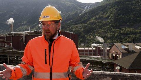 Engasjert:  Næringsministeren seier han har irritert seg over at norsk industri har eit ufortent dårleg rykte.