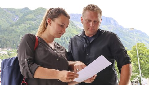 Tina og Asgeir Mannsåker, som driv gard på Mannsåker og er med i Håvås sameige, ventar no på jordskiftesak om Rossnos.