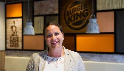 BEKREFTER SMITTEN: Kommunikasjonsrådgiverfor Burger King Heidi Moss kan bekrefte at en ansatt på Burger King Karmsund har fått påvist korona.
