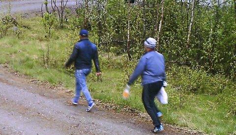 Fanget på kamera: Innbruddstyvene som brøt seg inn til Ann Karin S. Steinkjer og familien ble fanget på kamera, men er fortsatt på frifot. Nå ønsker politiet tips. FOTO: PRIVAT