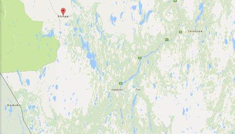 OBSERVERT: Jon-Arne Johansen skal ha blitt observert i Bidjovagge. Foto: Skjermdump fra Google Maps