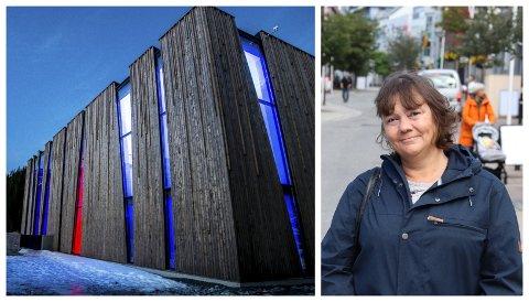 PÅ TINGET: Hanne Dyveke Søttar er stortingsrepresentant for FrP i Nordland, og har jobbet i kulissene for å få penger til prosjektet i Leirfjord.