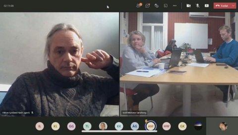 PROVOSERT: Håkon Ljosland (Rødt) syntes lite om Senterpartiets forslag til ny skolestruktur.