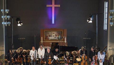 Lofoten Festival Strings: Festivalen fikk sitt eget orkester i fjor. Foto: Inga Helene Juul.