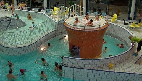 STENGES: Sørlandsbadet stenges frem til søndag 24. januar.