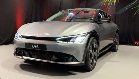 NÅ I NORGE: Kia EV6 er en elbil av neste generasjon, med egenskaper som hittil har vært ukjent i denne klassen.