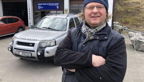 FORDELENE BORTE: Elbileier Petter Bruflat skal ha diesel