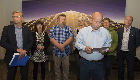 HAR SENDT FORSLAG: De seks partiene i den borgerlige alliansen har sendt et forslag der Miljøpartiet De Grønne får gjennomslag på flere punkt. ARKIVBILDER