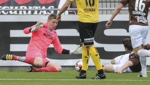 KAPTEIN: Ole Kristian Lauvli er keeper og kaptein for Raufoss Fotball i OBOS-ligaen.