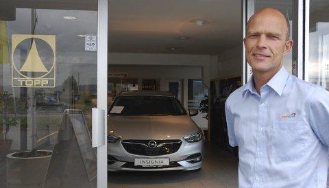MISTET OPEL: Topp Auto har vært Opel-forhandler i Gjøvik helt siden 1939. I forrige uke fikk de beskjed om at de ikke får forlenget kontrakten.