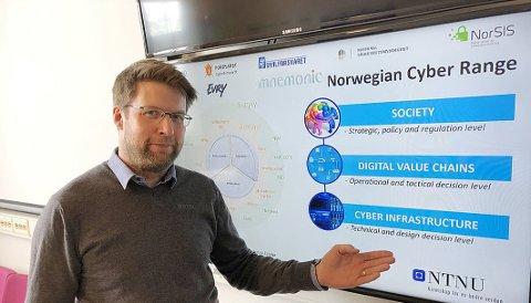 NYANSATT: Nils Kalstad var innstilt som førstekandidat til å ta over som viserektor på NTNU Gjøvik, men ble mandag ansatt i en annen stilling.