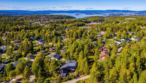 HØYE BOLIGPRISER: Kolbotn er blant Norges dyreste områder å bo. Her har det blitt solgt en rekke dyre boliger det siste året.