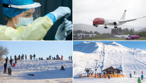VINTERFERIE: Regjeringen har mange råd for vinterferien