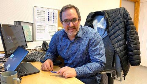 NY LEDER: Arild Pytte Solum har takket ja til jobben som rektor på Østvang skole.