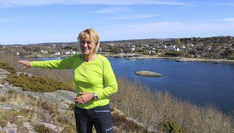 Helt annerledes: Berit Norheim har selv bygget opp Aktiv Fritid på Tjøme og drevet det i 21 år i år. 12. mars forsvant alt av bookinger hun hadde for denne sesongen. Nå prøver hun å redde noe av driften. Foto: Nina T. Blix