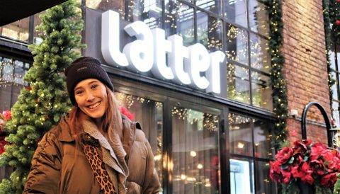 MAGISK: Pernille Øiestad fra Nøtterøy tror det blir magisk å reise rundt i Norge med julesanger. Turneen har 32 stoppesteder.