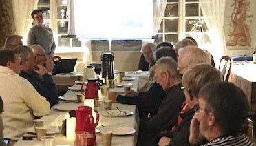 Møte i Småfisker'n Grenland med besøk også fra Stavern og Kragerø.