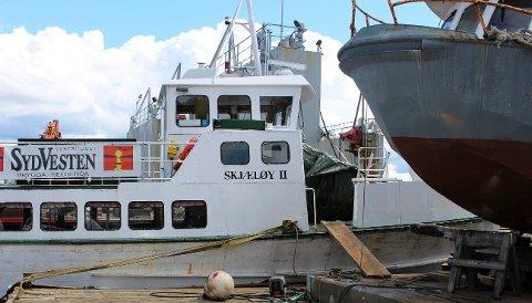 EKSTRAND: «Skjæløy II» skal ha krengeprøve tirsdag 4. juni.