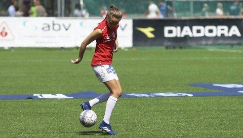 Finaleklar: Ingrid Altermark er klar for cupfinale med Sandviken. Den tidligere B&Y-spilleren kan fort få en nøkkelrolle i kampen.