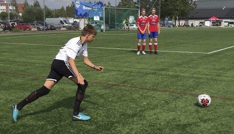 Lengst: Åga IL er klare for 16-delsfinale i A-sluttspillet, og er dermed det lokale laget som har gjort det best i turneringen. Foto: Privat