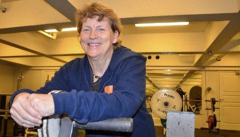 MYE Å TA TaK I: Inger Blikra, Rana kraftsportklubb, er glad hun har meg seg mange dyktige folk i styret i styrkeløftforbundet. Det avlaster jobben.