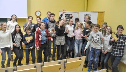 VIDERE: Seks vinnerlag fra Hov, Haugsbygd, Hole, Hemsedal og Geilo gikk videre til finalen i Innovation Camp.