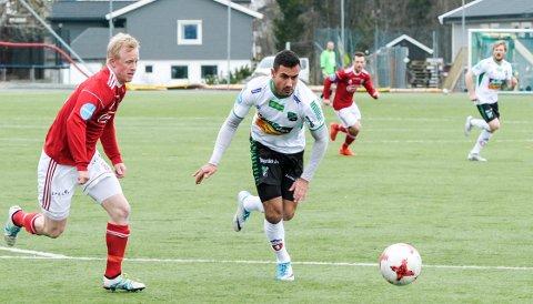 FORLENGER: Sami Kamel har forlenget sin kontrakt med Hønefoss.
