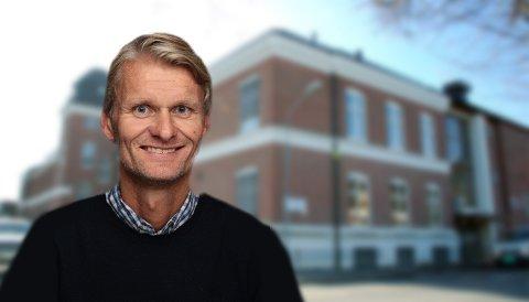 BLIR REKTOR: Bjørn Volleng er ansatt som ny rektor på Ringerike videregående skole.