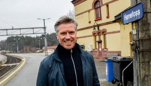PROSJEKTDIREKTØR: Morten Klokkersveen er leder for arbeidet med Ringeriksbanen og E16.