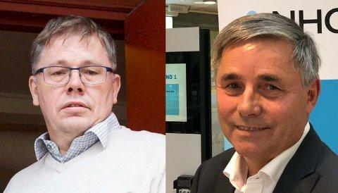 ENIGE: Begge er fornøyde med endringer  knyttet til permisjoner, Terje Berghagen i Fellesforbundet og Haakon Tronrud i NHO.