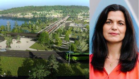 UROLIG: Regiondirektør Nina Solli i NHO Viken Oslo er bekymret for hva en ny regjering vil gjøre med Nye Veier.