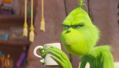 GRINCHEN: Den grønne figuren som hater jula har blitt animasjonsfilm, uten aldersgrense. Det betyr familiefilm, og en innledning på jula på Rjukan kino.