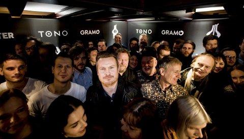 Favoritt: Amund Maarud er spillselskapet ComeOn sin favoritt til å vinne Spellemannpris i kategorien rock kommende helg. Foto: Tom Gustavsen