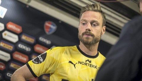 Fått behandling: Arnor Smárason har trent individuelt denne uken og starter ikke kampen mot Stabæk. I LSK håper man at islendingen kan sitte på benken. Foto: NTB scanpix