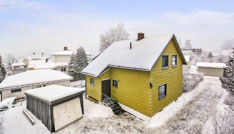410.000 over prisantydning: Eneboligen i Øvre Grønliveien ble solgt for 4,6 millioner kroner – 410.000 kroner over prisantydning.Foto: DNB Eiendom