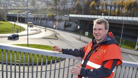 IKKE OVERRASKET: Prosjektleder Nils Brandt er ikke overrasket over hvilket trasévalg som går igjen i mange av høringsinnspillene.