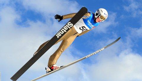 GODE SVEV: Frida Berger lå an til sin beste hoppsesong med flere medaljer før koronaen satte stopper for videre sportslig aktivitet.