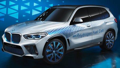 KJØREKLAR: BMW X5 på hydrogen blir testet ut på veiene i disse dager.