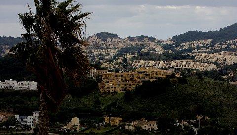 Stadig flere nordmenn vil ha feriehus i utlandet. Her fra La Manga i Spania.