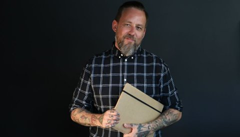 """NY SESONG. Tarjei Strøm er programleder i """"Ukjent arving""""."""