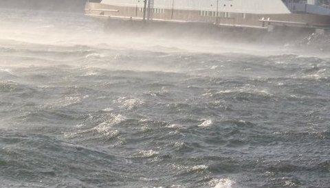 VIND: Austavinden kan ta godt på og ved fjordane i Ryfylke. Denne helga blir det så kraftige vindkast frå aust at vêrmeldarane går ut med gult farevarsel.