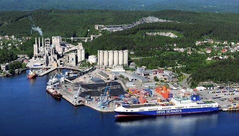 FRAMTIDEN: Breviksterminalen har et betydelig vekstpotensial, mener strategene i Grenland havn. En ny plan som går på dette og selskapets videre aktivitet legges fram for eierne om kort tid.