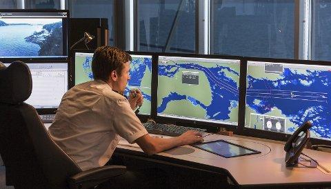 Kystverket samler informasjon om trafikken på sjøen gjennom AIS-systemet.