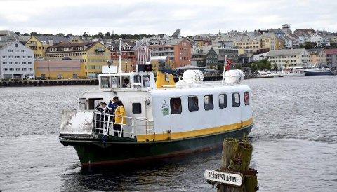 MDG-stunt: MDG vil ha gratis sundbåt i Kristiansund.