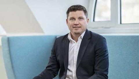 Trond Lars Nydal, administrerende direktør i Sparebanken Møre, kan se tilbake på et godt 2020, selv med utfordringene med koronapandemien.